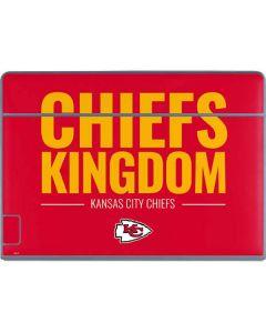 Kansas City Chiefs Team Motto Galaxy Book Keyboard Folio 12in Skin