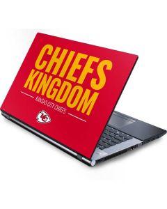 Kansas City Chiefs Team Motto Generic Laptop Skin