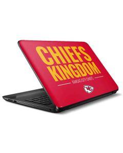 Kansas City Chiefs Team Motto HP Notebook Skin