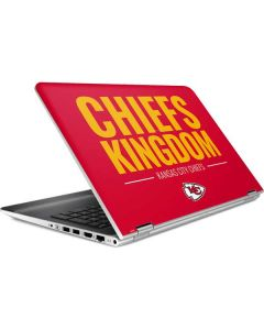 Kansas City Chiefs Team Motto HP Pavilion Skin