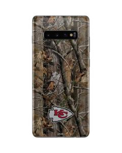 Kansas City Chiefs Realtree AP Camo Galaxy S10 Plus Skin