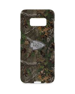 Kansas City Chiefs Realtree Xtra Green Camo Galaxy S8 Plus Lite Case