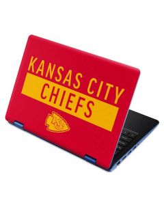 Kansas City Chiefs Red Performance Series Aspire R11 11.6in Skin