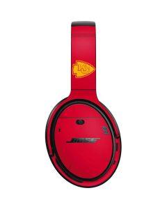 Kansas City Chiefs Red Performance Series Bose QuietComfort 35 II Headphones Skin