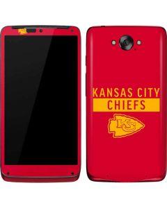 Kansas City Chiefs Red Performance Series Motorola Droid Skin