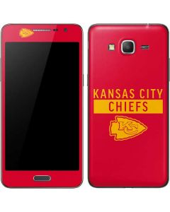 Kansas City Chiefs Red Performance Series Galaxy Grand Prime Skin