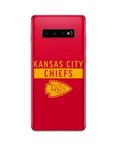 Kansas City Chiefs Red Performance Series Galaxy S10 Plus Skin