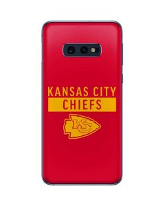 Kansas City Chiefs Red Performance Series Galaxy S10e Skin