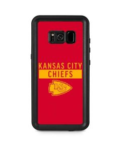 Kansas City Chiefs Red Performance Series Galaxy S8 Plus Waterproof Case