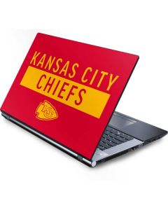 Kansas City Chiefs Red Performance Series Generic Laptop Skin