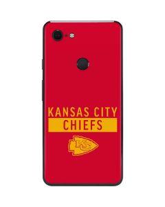 Kansas City Chiefs Red Performance Series Google Pixel 3 XL Skin