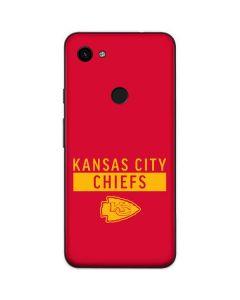 Kansas City Chiefs Red Performance Series Google Pixel 3a Skin