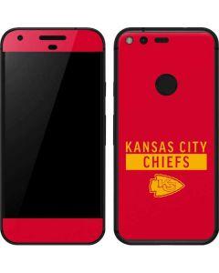 Kansas City Chiefs Red Performance Series Google Pixel Skin