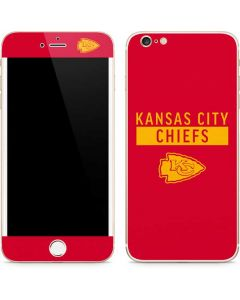 Kansas City Chiefs Red Performance Series iPhone 6/6s Plus Skin
