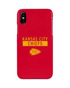 Kansas City Chiefs Red Performance Series iPhone XS Max Lite Case