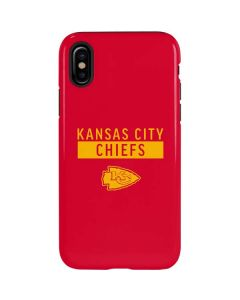 Kansas City Chiefs Red Performance Series iPhone XS Max Pro Case