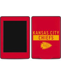 Kansas City Chiefs Red Performance Series Amazon Kindle Skin