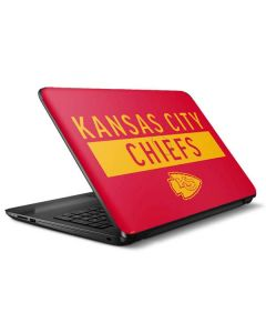 Kansas City Chiefs Red Performance Series HP Notebook Skin