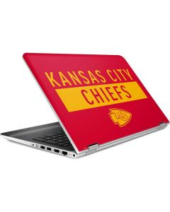 Kansas City Chiefs Red Performance Series HP Pavilion Skin