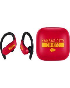Kansas City Chiefs Red Performance Series PowerBeats Pro Skin