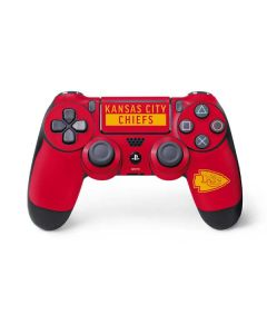 Kansas City Chiefs Red Performance Series PS4 Pro/Slim Controller Skin