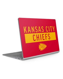 Kansas City Chiefs Red Performance Series Surface Book 2 15in Skin
