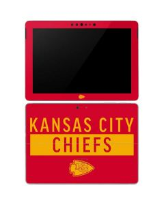 Kansas City Chiefs Red Performance Series Surface Go Skin