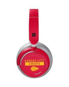Kansas City Chiefs Red Performance Series Surface Headphones Skin