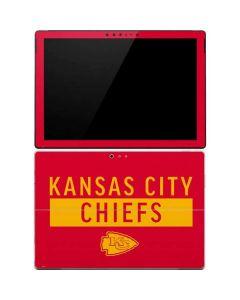 Kansas City Chiefs Red Performance Series Surface Pro 4 Skin