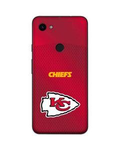 Kansas City Chiefs Team Jersey Google Pixel 3a Skin