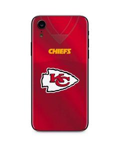 Kansas City Chiefs Team Jersey iPhone XR Skin
