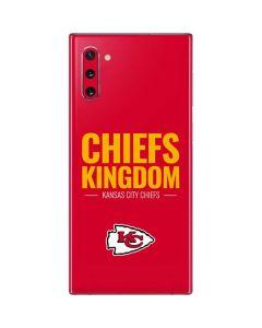 Kansas City Chiefs Team Motto Galaxy Note 10 Skin