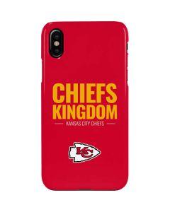 Kansas City Chiefs Team Motto iPhone XS Max Lite Case