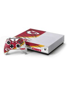 Kansas City Chiefs Xbox One S Console and Controller Bundle Skin