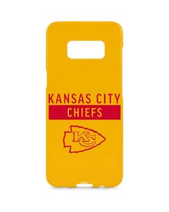 Kansas City Chiefs Yellow Performance Series Galaxy S8 Plus Lite Case