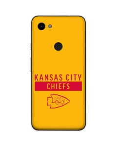 Kansas City Chiefs Yellow Performance Series Google Pixel 3a Skin