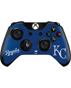 Kansas City Royals - Solid Distressed Xbox One Controller Skin