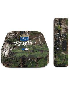 Kansas City Royals Realtree Xtra Green Camo Apple TV Skin