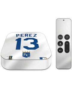 Kansas City Royals Salvador Perez #13 Apple TV Skin