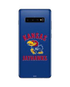 Kansas Jayhawks Mascot Galaxy S10 Plus Skin
