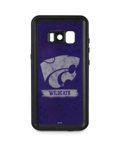 Kansas State Wildcats Distressed Galaxy S8 Plus Waterproof Case