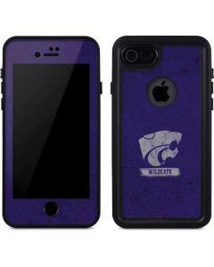 Kansas State Wildcats Distressed iPhone 7 Waterproof Case