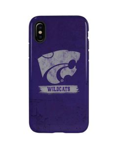 Kansas State Wildcats Distressed iPhone X Pro Case