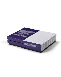 Kansas State Wildcats Distressed Xbox One S Console Skin