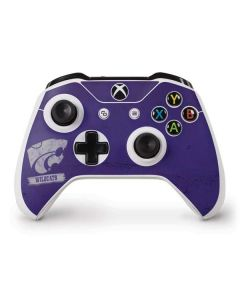 Kansas State Wildcats Distressed Xbox One S Controller Skin