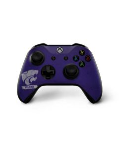 Kansas State Wildcats Distressed Xbox One X Controller Skin