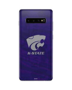 Kansas State Wildcats Pattern Galaxy S10 Plus Skin