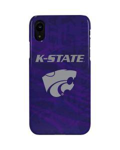 Kansas State Wildcats Pattern iPhone XR Lite Case