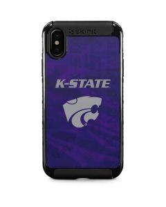 Kansas State Wildcats Pattern iPhone XS Cargo Case