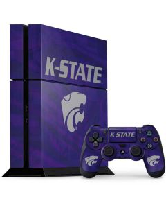 Kansas State Wildcats Pattern PS4 Console and Controller Bundle Skin